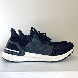 Adidas Youth UltraBOOST 19 Sneaker Black And White